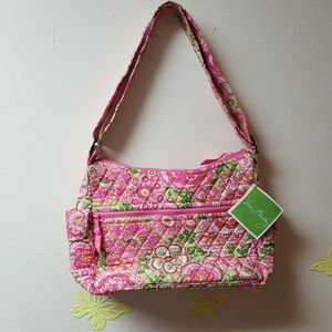 Vera Bradley NWT Petal Pink On The Go Purse